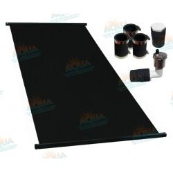 Paquete 6 Paneles Solares para Alberca. Incluye Conectores