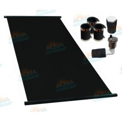 Paquete 10 Paneles Solares para Alberca. Incluye Conectores