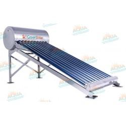 Calentador Solar 10 Tubos  Acero Inoxidable