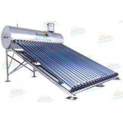 Calentador Solar 20 Tubos Alta Presión Acero Inoxidable