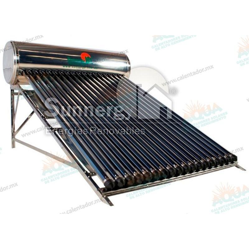 Calentador solar sunnergy acero inoxidable 16 tubos - Tubos acero inoxidable ...
