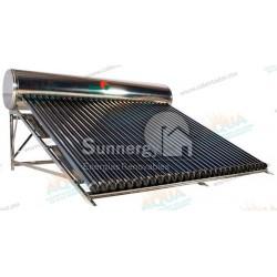 Calentador Solar 30 Tubos  Acero Inoxidable