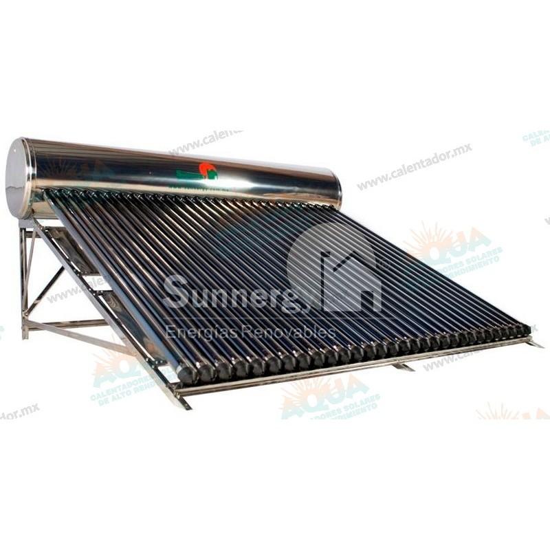 Calentador solar sunnergy acero inoxidable 30 tubos - Tubos acero inoxidable ...