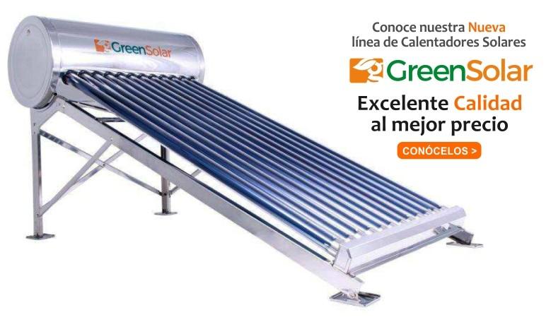 Calentadores Solares GreenSolar