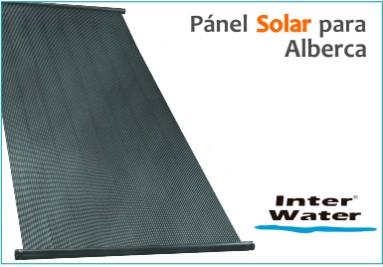 Paneles Solares para alberca marca Interwater