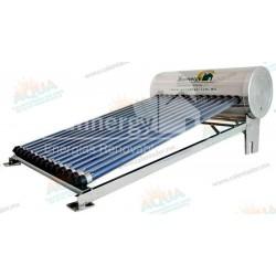 Calentador Solar 14 Tubos  Acero Inoxidable estructura corta