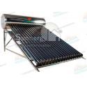 Calentador Solar 16 Tubos  Acero Inoxidable