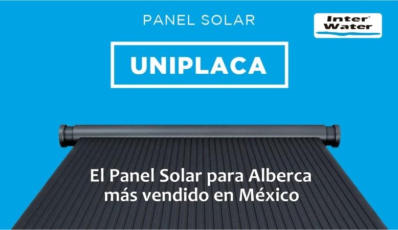 Panel Solar para Alberca Interwater